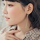 打結設計長條耳環-OB大尺碼