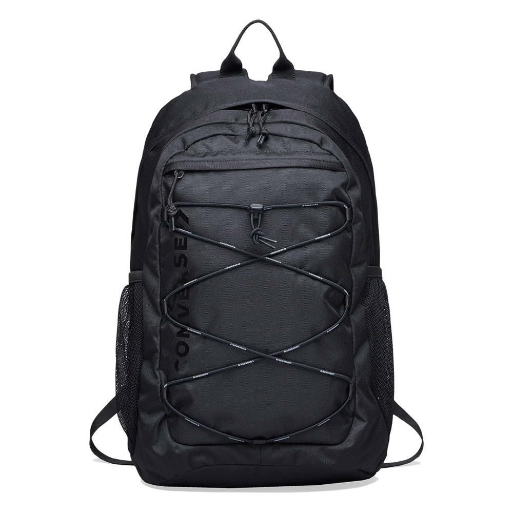 CONVERSE 後背包-10017262-A01 黑色