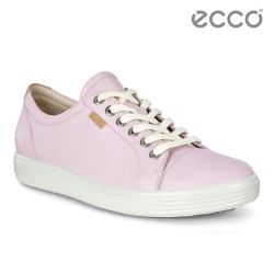 ECCO SOFT 7 W 經典輕巧休閒鞋 女-玫瑰粉