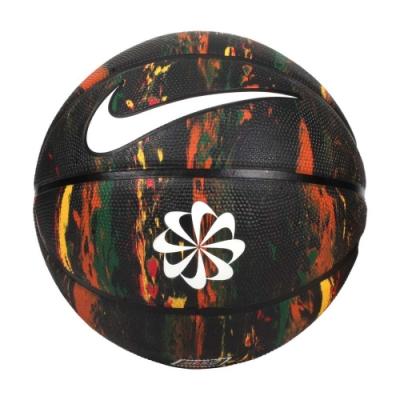 NIKE REVIVAL DOMINATE 8P 7號籃球-室外 訓練 N100247797307 黑白橘黃綠