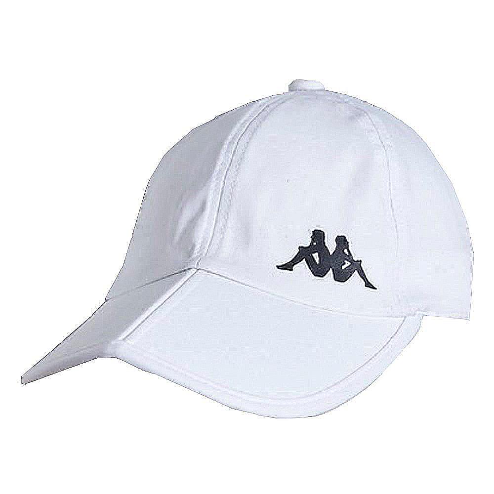 KAPPA義大利休閒慢跑運動帽1個 白