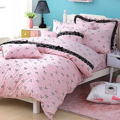 OLIVIA   蝶戀  加大雙人床包美式枕套三件組