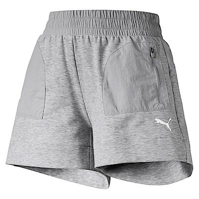 PUMA-女性基本系列Evostripe短褲-淺麻花灰-亞規