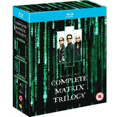 駭客任務 三部曲 藍光六碟版  藍光 BD