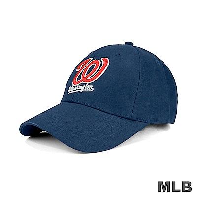 MLB-華盛頓國民隊可調式復古球帽