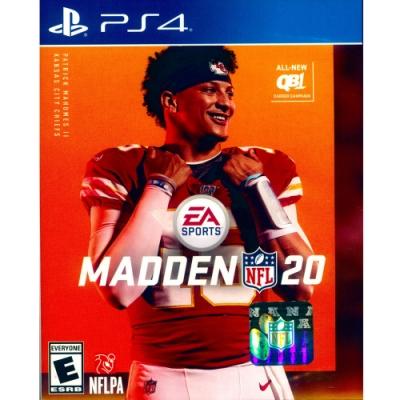 勁爆美式足球 20 MADDEN NFL 20 - PS4 英文美版