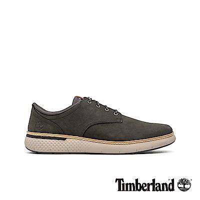 Timberland 男款墨綠色磨砂革牛津休閒鞋|A2BUC