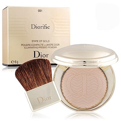 (即期品)Dior 迪奧 金燦摩登蜜粉餅6g-兩色可選-期效201909