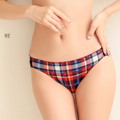 aimerfeel 蘇格蘭格紋內褲-紅色-177921-RE