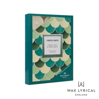 英國 Wax Lyrical 大地系列香氛蠟燭-佛手柑綠茶 Green Tea & Bergamot 12入茶燭