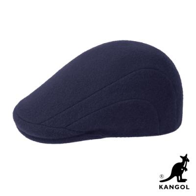 KANGOL-507 WOOL鴨舌帽-深藍色