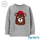 Carter's台灣總代理 毛帽熊熊長袖上衣