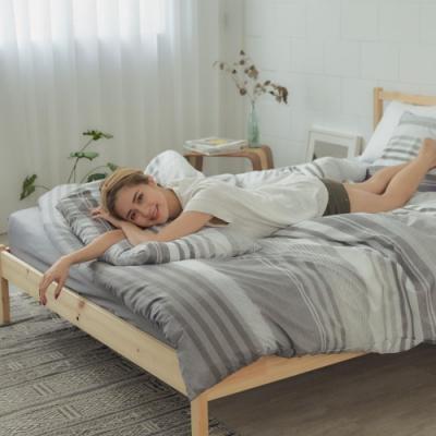 BUHO 舒涼TENCEL天絲雙人三件式床包枕套組(私家潮居)