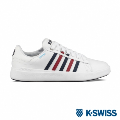 K-SWISS Pershing Court 超輕量防水鞋-男-白/藍/紅