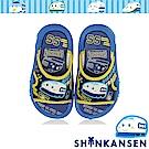 三麗鷗 新幹線童鞋 輕量減壓休閒拖鞋-藍