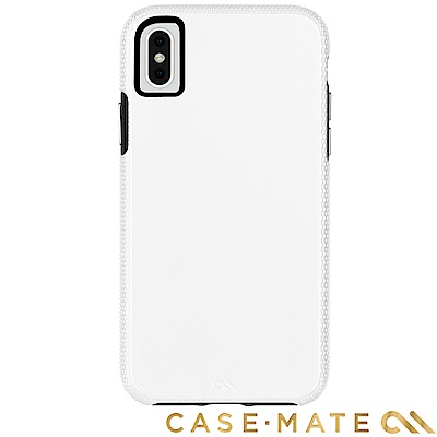美國Case-Mate iPhone XS Max Tough Grip 防摔殼-白/黑