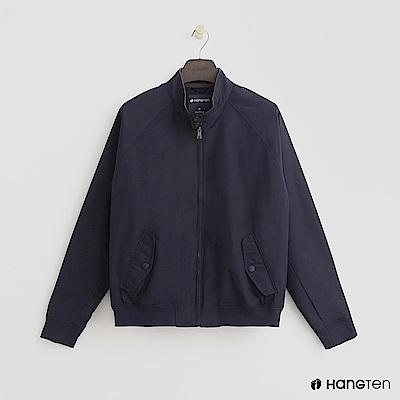 Hang Ten - 男裝 - 帥氣立領夾克外套 - 藍