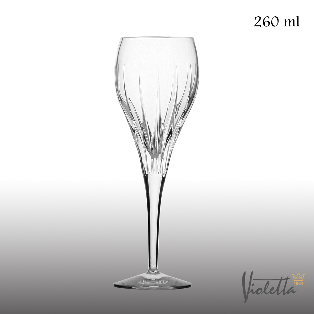 Royal Duke Violetta摩登型流線白酒杯260ml