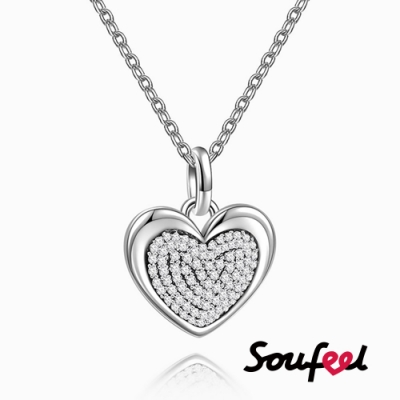 SOUFEEL索菲爾 925純銀珠飾 心靈深處 項鍊