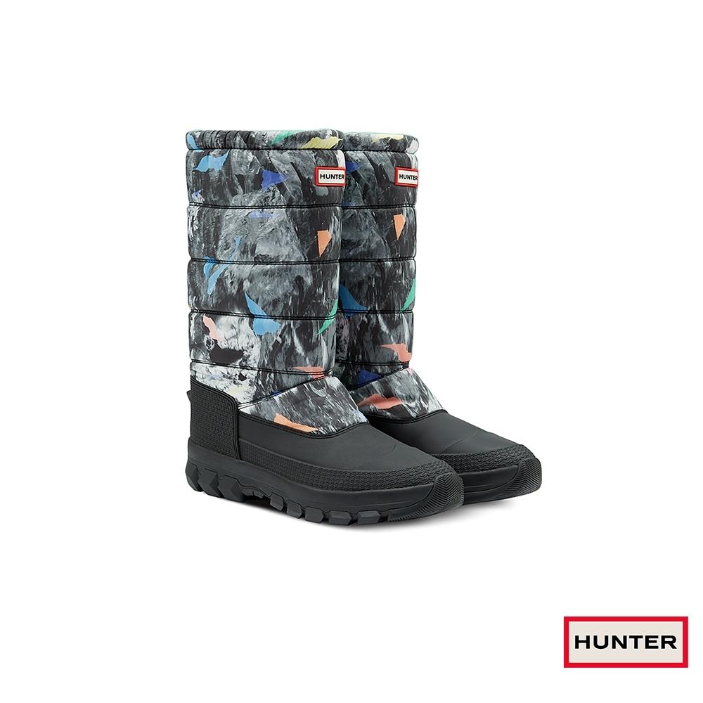 HUNTER - 男鞋 - Original長筒雪靴 - 黑