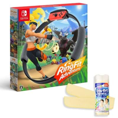 Nintendo Switch 健身環大冒險+專屬控制器Ring-Con