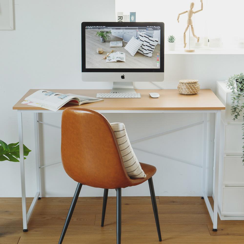 完美主義 美學日系工作桌/電腦桌/書桌(2色可選) product image 1
