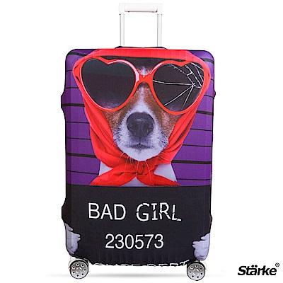 Starke 適用23-26吋高彈性行李箱套 -壞女狗狗