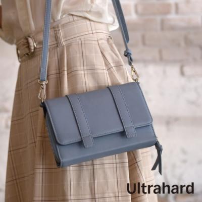 Ultrahard Charisma皮革斜背包(藍)