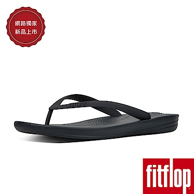 FitFlop IQUSHION FLIP FLOPS-炭灰