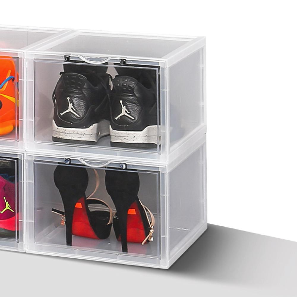 ANDYMAY2 高端品質抗UV磁吸式鞋盒-正開款式(6入) product image 1