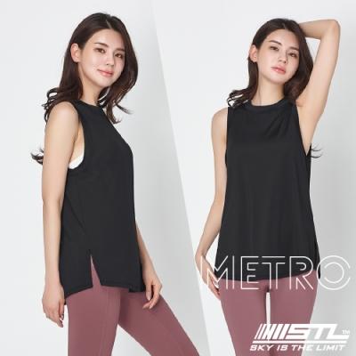 STL YOGA METRO SL 韓國瑜珈 地鐵Nashi 運動機能訓練無袖背心上衣 黑