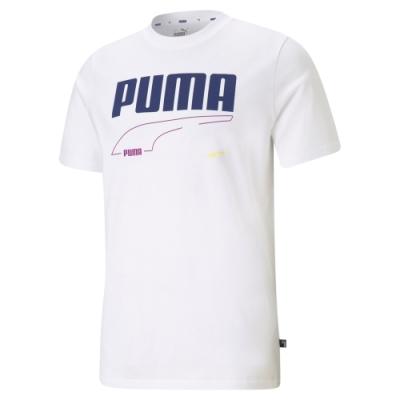 【PUMA官方旗艦】基本系列Rebel短袖T恤 男性 58573862