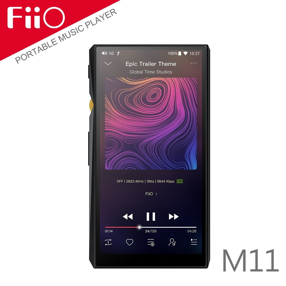 FiiO M11 高音質隨身Android智慧無損音樂播放器