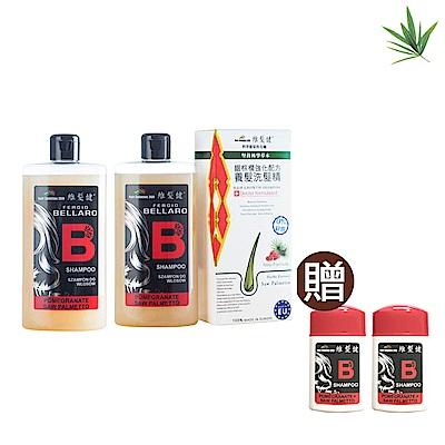 A+維髮健 鋸棕櫚強化配方養髮洗髮精300mlx2入-買2送2超值組