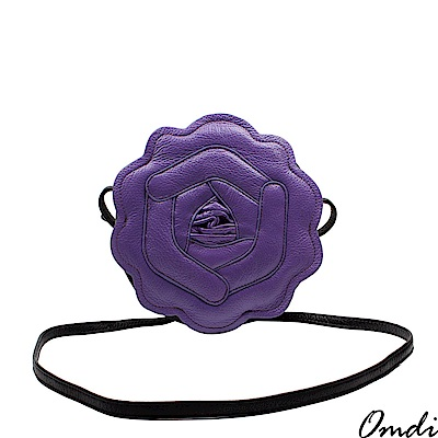 Omdi 精緻玫瑰手提包(紫色)
