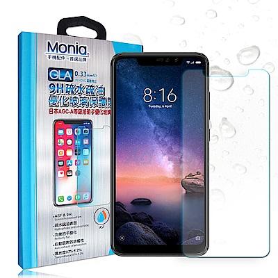 MONIA 紅米Note 6 Pro 日本頂級疏水疏油9H鋼化玻璃膜