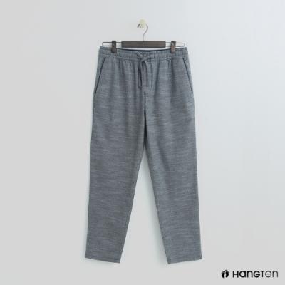 Hang Ten - 男裝 - 鬆緊休閒西裝褲 - 藍格紋