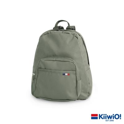 Kiiwi O! 極輕尼龍系列 休閒後背包 JEWEL 淺灰