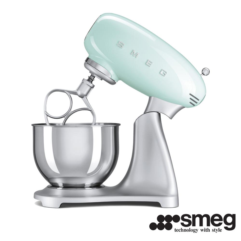 義大利 SMEG  抬頭式攪拌機  - 粉綠色 SMF01PGTW