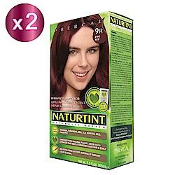 NATURTINT 赫本染髮劑 9R 酒紅色x2 (155ml/盒)