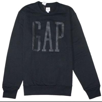 GAP 男生 長袖T恤 黑 1448