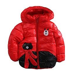 鋪棉厚款保暖連帽外套 k60914 魔法Baby