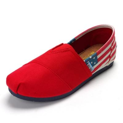 韓國KW美鞋館 (現貨+預購) 美式大軍裝風懶人鞋-紅
