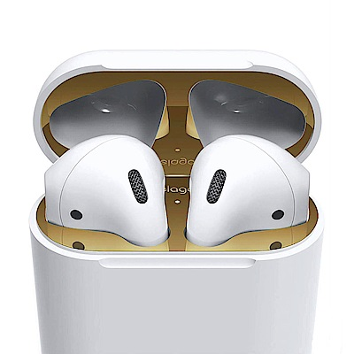 elago AirPods 18K金超防塵充電盒保護貼(單入)