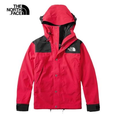 【經典ICON】The North Face北面男女款紅色1990MountainJacket衝鋒衣|4R51682