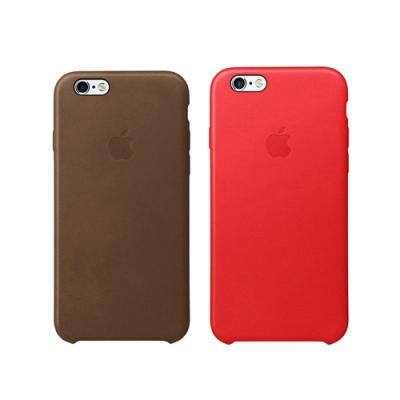 Apple 原廠 iPhone 6 / iPhone 6s 皮革保護套 (台灣公司貨)