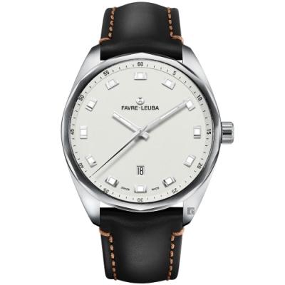 Favre-Leuba 域峰錶 SKY CHIEF DATE 紳士機械錶(00.10201.08.21.41)