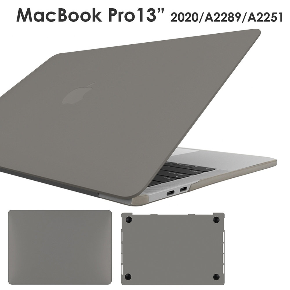 Apple Macbook Pro 13吋 (2020)專用 超薄半透明軟殼