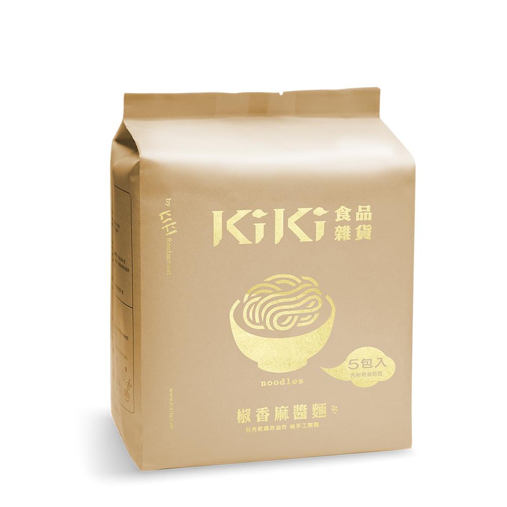 KiKi食品雜貨 椒香麻醬拌麵(5包/袋)