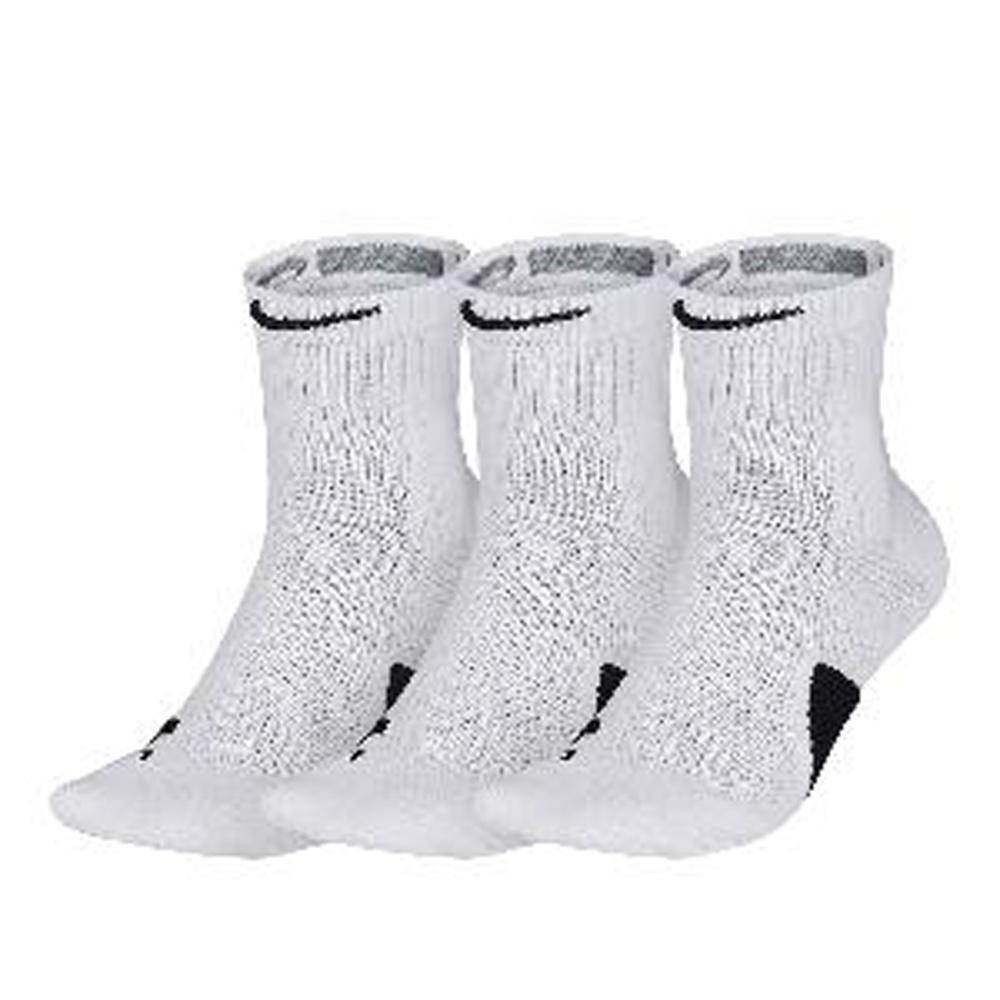 NIKE 籃球襪 Elite Mid 3 Pack 3雙一入 黑白2色長襪 SX7625100_3 SX7625013_3 product image 1